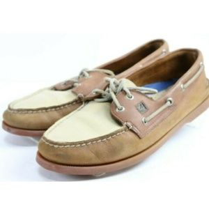 Sperry Top-Sider Men's 2-Eye Boat Shoes Size 10.5